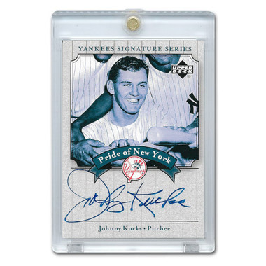 Johnny Kucks Autographed Card 2003 Upper Deck Yankees Signature Series #PN-KU