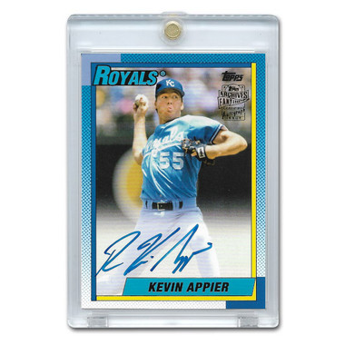 Kevin Appier Autographed Card 2018 Topps Archives Franchise Favorites