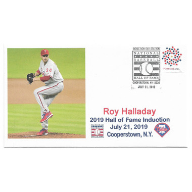 Roy Halladay Induction Day Cancelled First Day Cover July 21, 2019