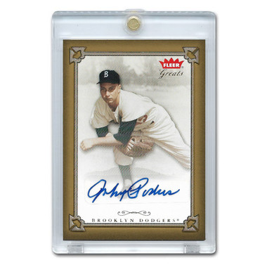 Johnny Podres Autographed Card 2004 Fleer Greats of the Game