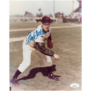 Bob Feller Autographed 8x10 Photograph (JSA-76)
