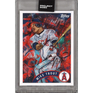Mike Trout Topps Project 2020 # 35 - Andrew Thiele