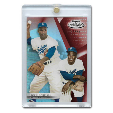 Jackie Robinson 2018 Topps Gold Label Class 1 Red # 25 Ltd Ed of 75