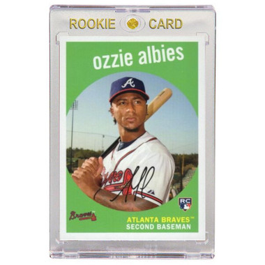 Ozzie Albies Atlanta Braves 2018 Topps Archives # 18 Rookie Card