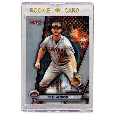 Pete Alonso New York Mets 2019 Bowman's Best # 32 Rookie Card