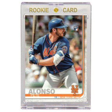 Pete Alonso New York Mets 2019 Topps # 475 Rookie Card (Factory Set Variation)