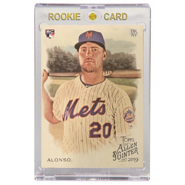 Pete Alonso New York Mets 2019 Topps Allen & Ginter # 182 Rookie Card