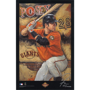 Buster Posey San Francisco Giants 11 x 17 Limited Edition Lithograph