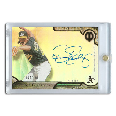 Dennis Eckersley Autographed Card 2016 Topps Tribute Ltd Ed of 199