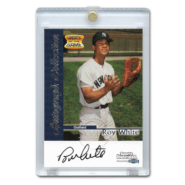 Roy White Autographed Card 1999 Fleer Sports Illustrated Greats