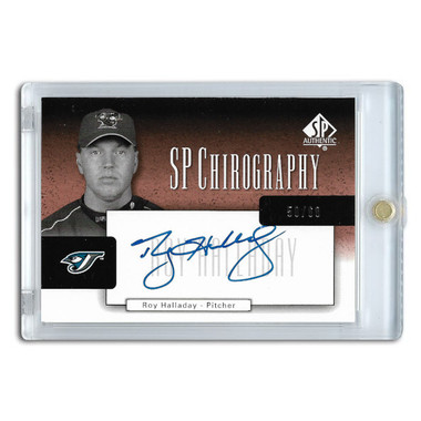 Roy Halladay Autographed Card 2004 SP Authentic Chirography Ltd Ed of 60