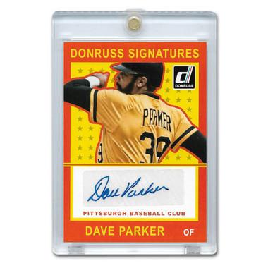 Dave Parker Autographed Card 2014 Donruss Signature # DP