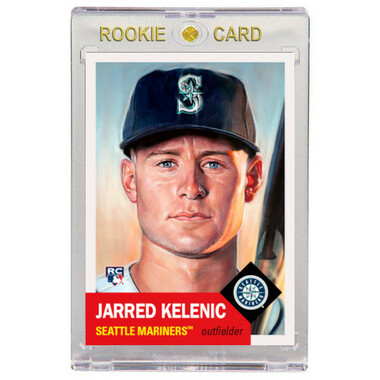 Jarred Kelenic Seattle Mariners 2021 Topps Living Set # 420 Rookie Card