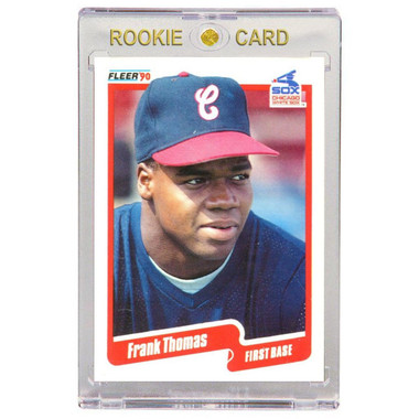 Frank Thomas Chicago White Sox 1990 Fleer Update # U-87 Rookie Card