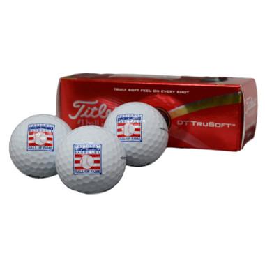 Titleist Baseball Hall of Fame Logo Golf Balls 3 Pack