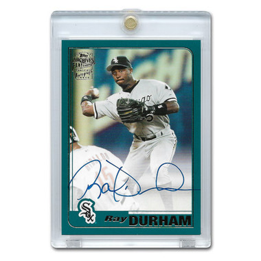 Ray Durham Autographed Card 2020 Topps Archives Franchise Favorites