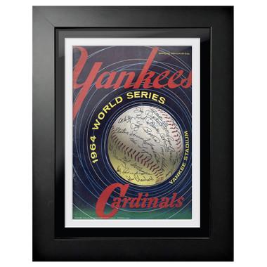 1964 World Series Program Cover 18 x 14 Framed Print