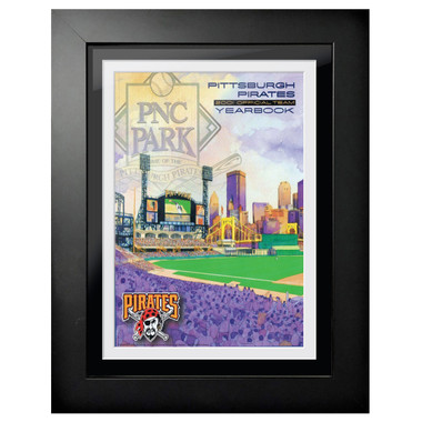 Pittsburgh Pirates 2001 Yearbook Cover 18 x 14 Framed Print