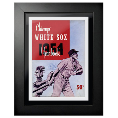 Chicago White Sox 1954 Yearbook Cover 18 x 14 Framed Print