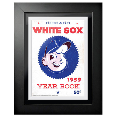 Chicago White Sox 1959 Yearbook Cover 18 x 14 Framed Print