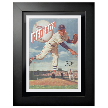 Boston Red Sox 1959 Yearbook Cover 18 x 14 Framed Print