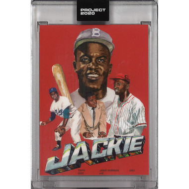 Jackie Robinson Topps Project 2020 # 321 - Jacob Rochester