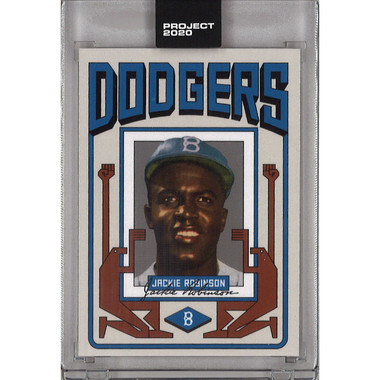 Jackie Robinson Topps Project 2020 # 210 - Grotesk