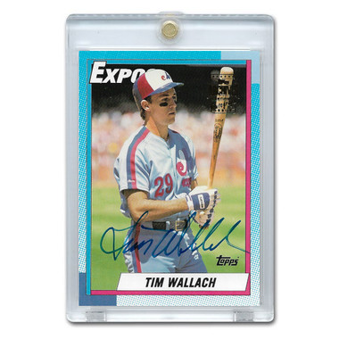 Tim Wallach Autographed Card 2003 Topps Archives Franchise Favorites # FFA-TW