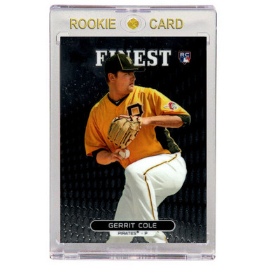 Gerrit Cole Pittsburgh Pirates 2013 Topps Finest # 99 Rookie Card