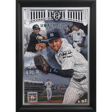 Derek Jeter 'My Way' Autographed Limited Edition of 52 Framed 24 x 36 Canvas Giclee (Justyn Farano)