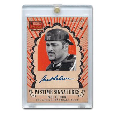 Paul LoDuca Autographed Card 2013 America's Pastime Signatures Ltd Ed of 125