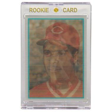 Barry Larkin Cincinnati Reds 1986 Sportflics # 34 Rookie Card