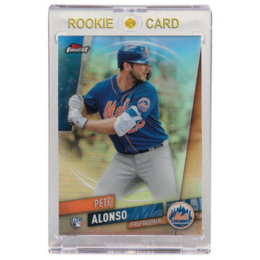 Pete Alonso New York Mets 2019 Topps Finest Refractor # 44 Rookie Card