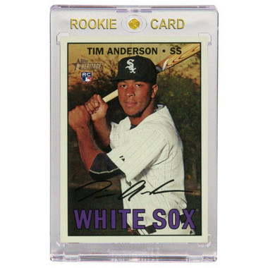 Tim Anderson Chicago White Sox 2020 Topps Heritage # 674 Rookie Card