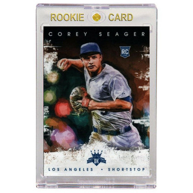 Corey Seager Los Angeles Dodgers 2016 Diamond Kings # 142 Rookie Card