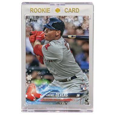 Rafael Devers Boston Red Sox 2018 Topps Snowflake # HMW67 Rookie Card