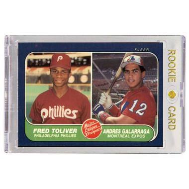 Andres Galarraga Monteal Expos 1986 Fleer # 647 Rookie Card