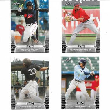 2020 Leaf Draft Baseball 50 Card Boxed Set