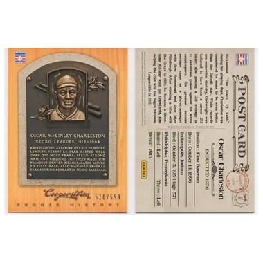 Oscar Charleston 2012 Panini Cooperstown Bronze History Baseball Card Ltd Ed of 599