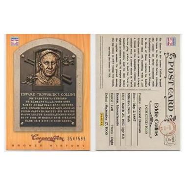 Eddie Collins 2012 Panini Cooperstown Bronze History Baseball Card Ltd Ed of 599
