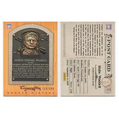 Rube Waddell 2012 Panini Cooperstown Bronze History Baseball Card Ltd Ed of 599