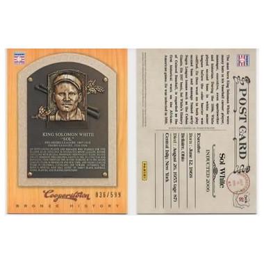 Sol White 2012 Panini Cooperstown Bronze History Baseball Card Ltd Ed of 599