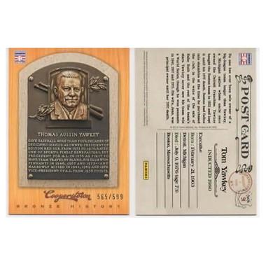 Tom Yawkey 2012 Panini Cooperstown Bronze History Baseball Card Ltd Ed of 599