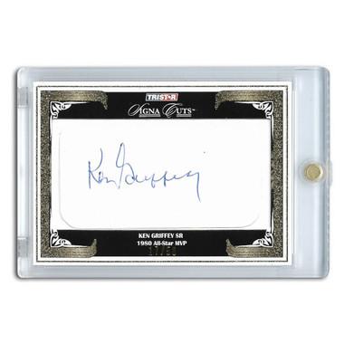 Ken Griffey Sr. Autographed Card 2008 TriStar Signa Cuts Ltd Ed of 50