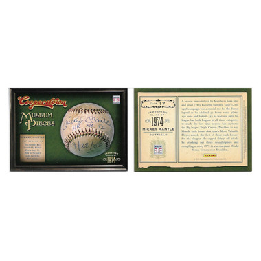 2012 Panini Cooperstown Museum Pieces 20 Card Baseball Insert Set