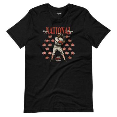 Unisex Teambrown Negro National League Black T-Shirt - 18 Teams