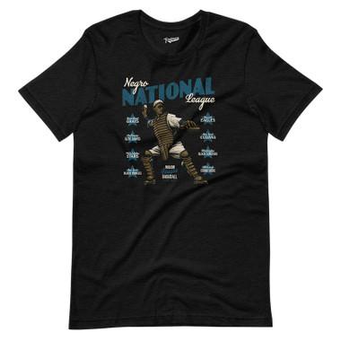 Unisex Teambrown Negro National League Black T-Shirt - 8 Teams