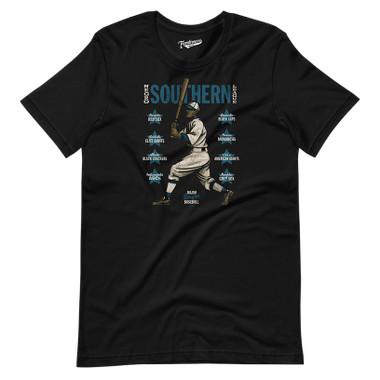 Unisex Teambrown Negro Southern League Black T-Shirt - 8 Teams