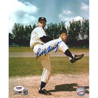Bobby Shantz Autographed 8x10 Photograph (PSA)