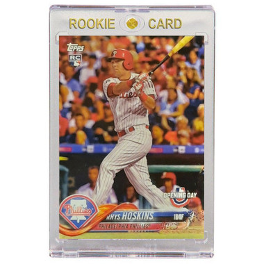 Rhys Hoskins Philadelphia Phillies 2018 Topps Opening Day # 82 Rookie Card